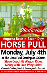 Bean and Bacon Days 2016 Horse Pulling Contest
