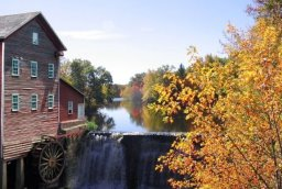 Dells Mill in Fall