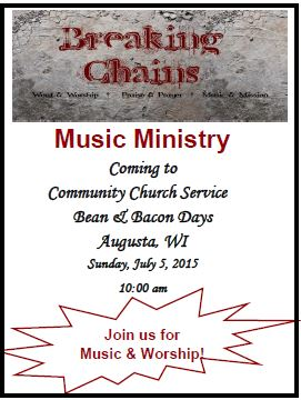 Community Church Service Breaking Chains