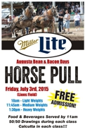 Wisconsin Horse Pull Friday July 3 2015