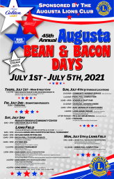 Bean and Bacon Days Full Schedul 2021